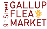 The Gallup 9th Flea Market Logo