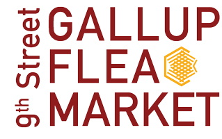 The Gallup 9th Flea Market Retina Logo